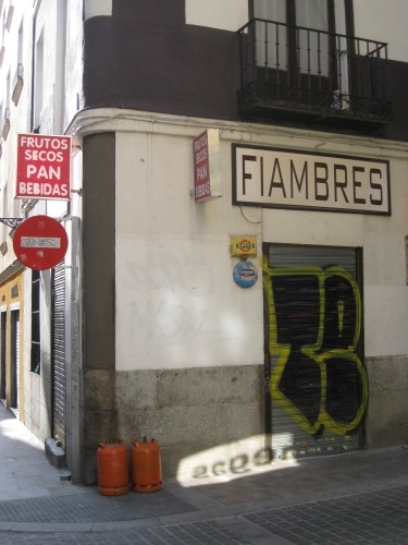Fiambres and Bombonas, Huertas, Madrid
