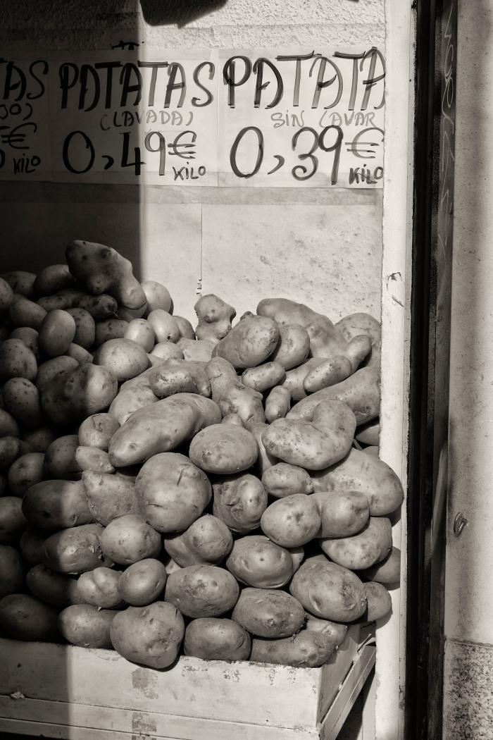 Fruit shop, Madrid
